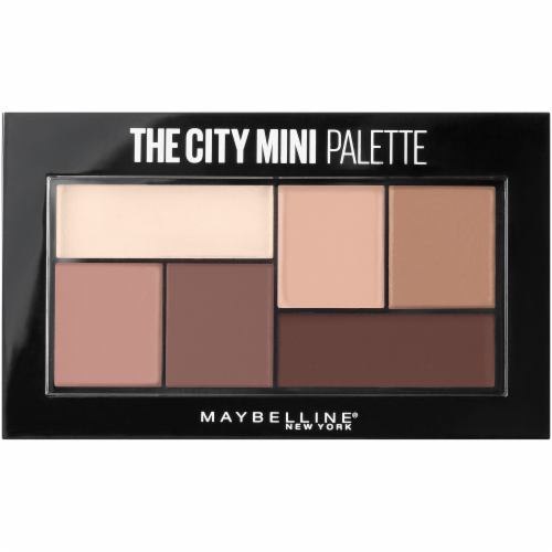 Maybelline The City Mini 480 Matte About Town Eyeshadow Palette Perspective: front