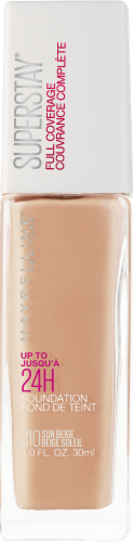 Maybelline Superstay 24-Hour Full Coverage 310 Sun Beige Liquid Foundation Perspective: front
