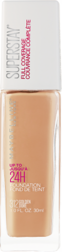 Maybelline Superstay Golden Full Coverage Liquid Foundation Perspective: front