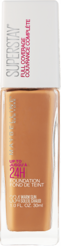 Maybelline Superstay Warm Sun Full Coverage Liquid Foundation Perspective: front