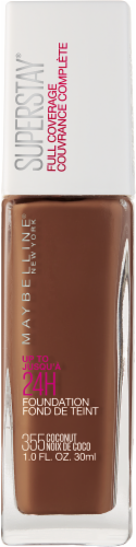 Maybelline Superstay 355 Coconut Full Coverage Liquid Foundation Perspective: front