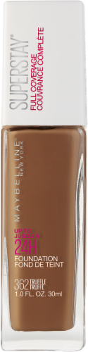 Maybelline Superstay Truffle Full Coverage Liquid Foundation Perspective: front
