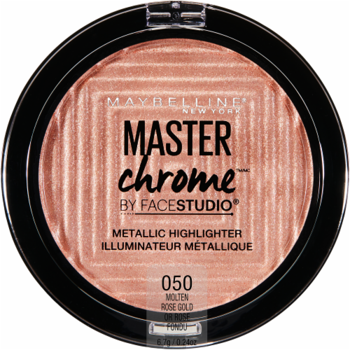 Maybelline Master Chrome by Face Studio 050 Rose Gold Metallic Highlighter Perspective: front