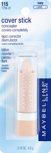 Maybelline Cover Stick 115 Ivory Concealer Perspective: front