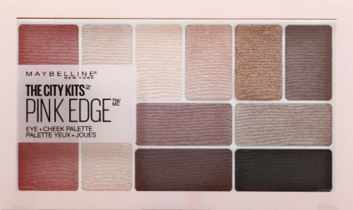 Maybelline The City Kits Pink Edge Eye + Cheek Palette Perspective: front
