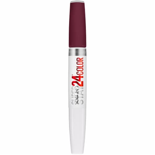 Maybelline Super Stay 24 Color Merlot Armour Liquid Lipstick Perspective: front