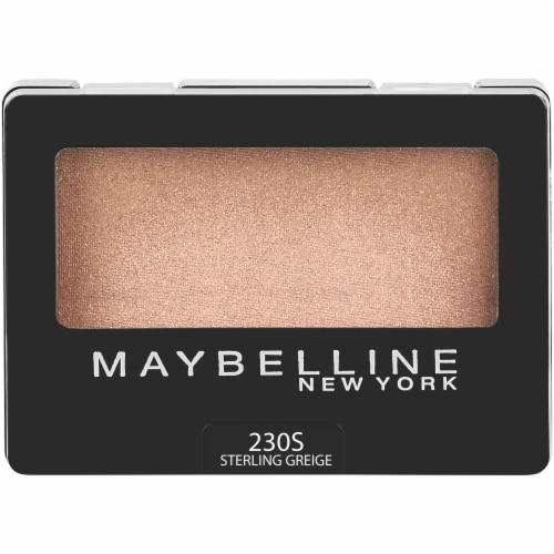 Maybelline Expert Wear Sterling Greige 230 Eyeshadow Perspective: front