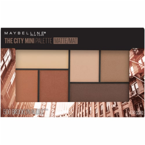 Maybelline The City Brooklyn Nudes Mini Eyeshadow Palette Perspective: front
