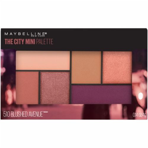 Maybelline The City Blushed Avenue Mini Eyeshadow Palette Perspective: front