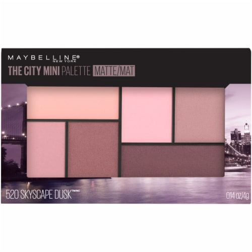Maybelline The City Skyscape Dusk Mini Eyeshadow Palette Perspective: front