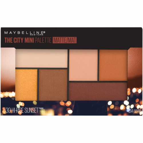 Maybelline The City Mini Eyeshadow Palette - Hi-Rise Sunset 530 Perspective: front