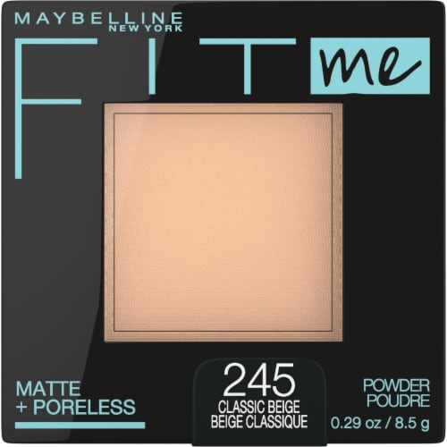 Maybelline Fit Me Matte + Poreless 245 Classic Beige Pressed Face Powder Perspective: front