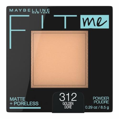 Maybelline Fit Me Matte + Poreless Pressed Golden Face Powder Perspective: front
