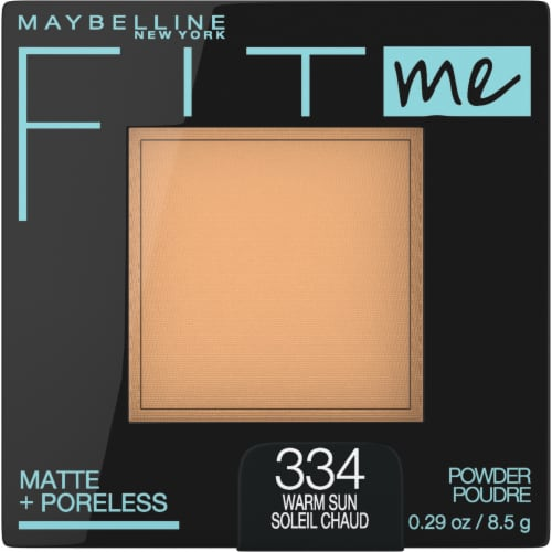 Maybelline Fit Me Matte + Poreless 334 Warm Sun Pressed Face Powder Perspective: front