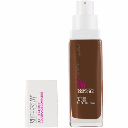 Maybelline Super Stay Full Coverage Java 375 Liquid Foundation Perspective: front