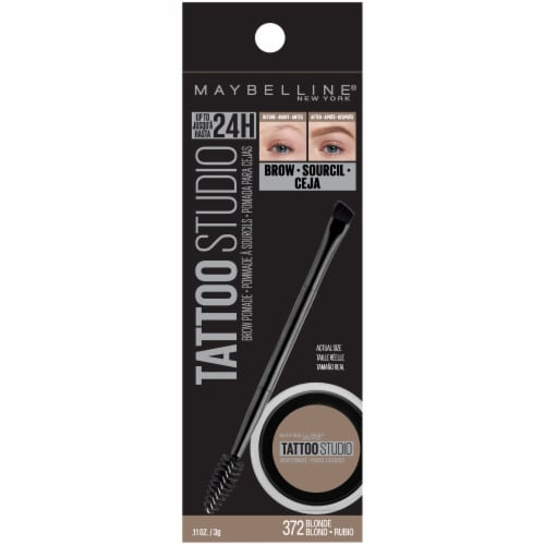 Maybelline Tattoo Studio Blonde 372 Brow Pomade Perspective: front