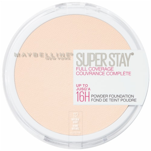 Maybelline Super Stay Full Coverage 112 Natural Ivory Powder Foundation Perspective: front
