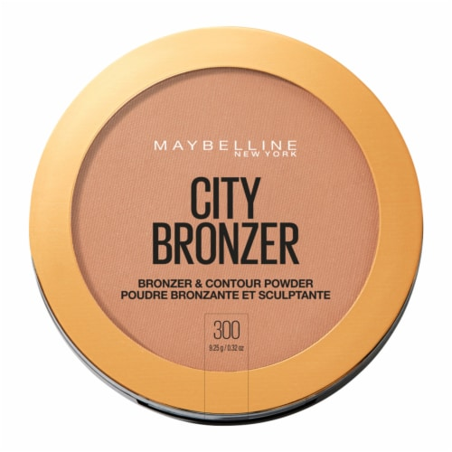 Maybelline City Bronzer 300 Deep Bronzer and Contour Powder Perspective: front