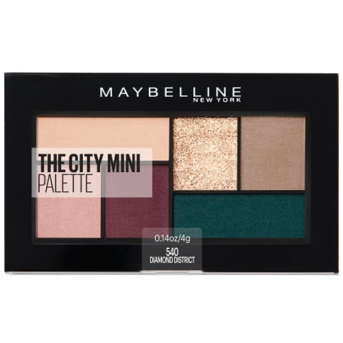 Maybelline The City Mini Eyeshadow Palette - Diamond District 540 Perspective: front