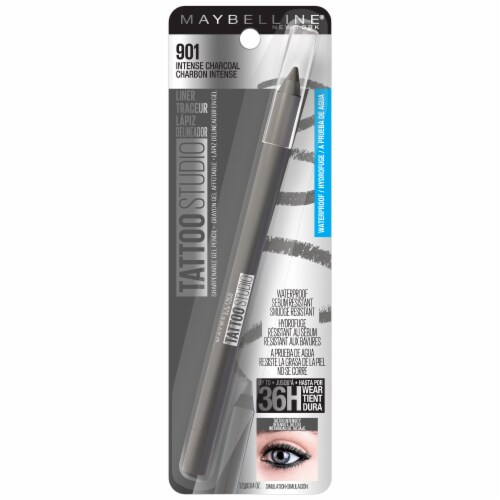 Maybelline TattooStudio Intense Charcoal Eyeliner Pencil Perspective: front