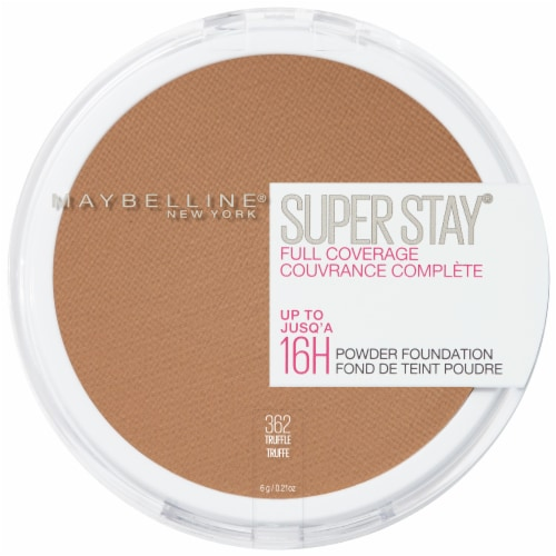 Maybelline Super Stay Full Coverage 362 Truffle Powder Foundation Perspective: front
