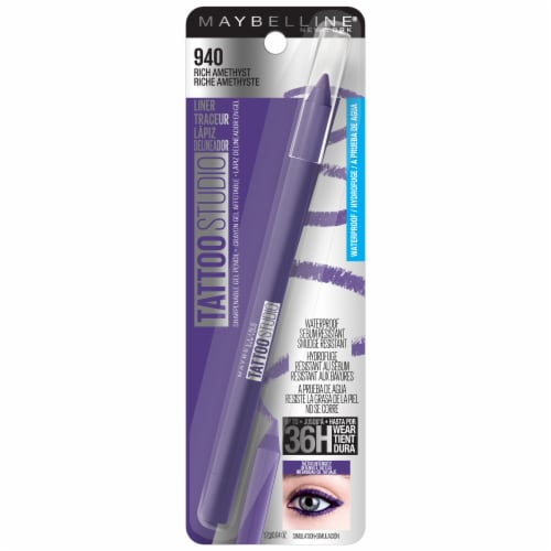 Maybelline Tattoo Studio 940 Rich Amethyst Eyeliner Perspective: front