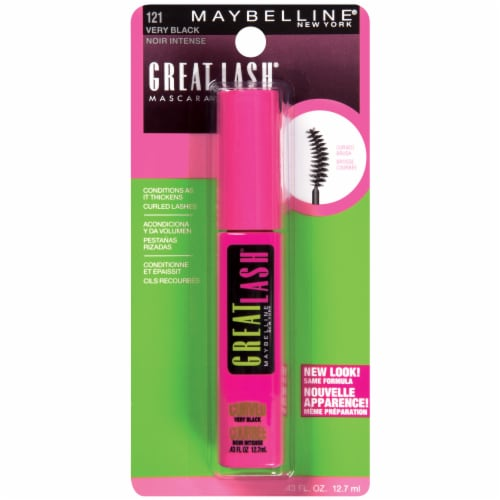 Maybelline Great Lash Curved Brush Washable Mascara - Very Black Perspective: front