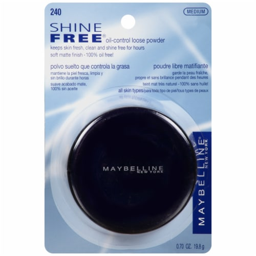 Maybelline Shine Free Oil-Control 240 Medium Loose Powder Perspective: front