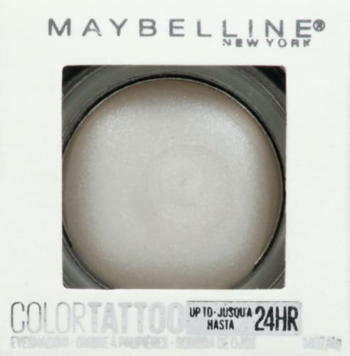 Maybelline Color Tattoo Longwear Chill Girl Cream Eyeshadow Perspective: front