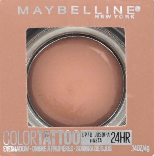 Maybelline Color Tattoo Longwear Urbanite Cream Eyeshadow Perspective: front