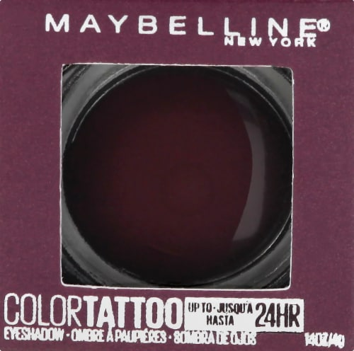 Maybelline Color Tattoo Longwear Knockout Cream Eyeshadow Perspective: front
