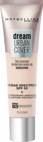 Maybelline Dream Urban Cover 112 Natural Ivory Foundation Perspective: front