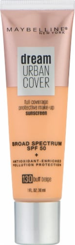 Maybelline Dream Urban Cover 130 Buff Beige Foundation Perspective: front