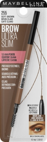 Maybelline Soft Brown Ultra 255 Slim Brow Pencil Perspective: front