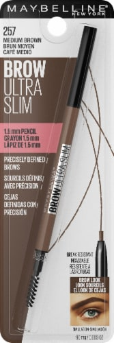 Maybelline 257 Medium Brown Ultra Slim Brow Pencil Perspective: front