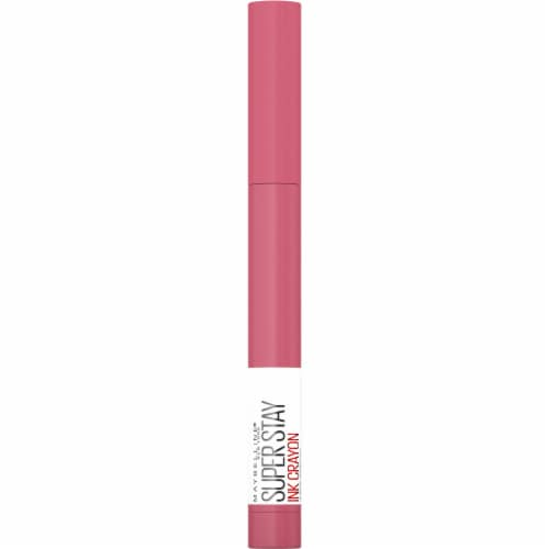 Maybelline SuperStay Ink Keep It Fun Crayon Lipstick Perspective: front
