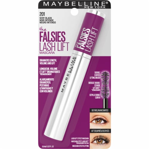 Maybelline The Falsies 201 Very Black Lash Lift Mascara Perspective: front