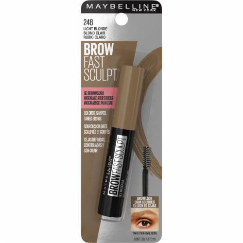 Maybelline Brow Fast Sculpt 248 Light Blonde Gel Brow Mascara Perspective: front