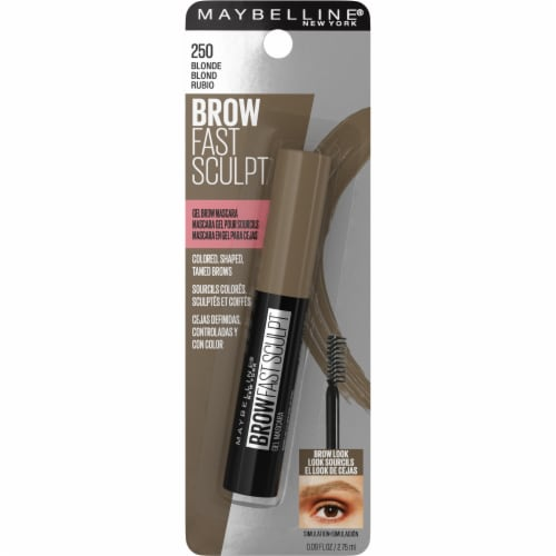 Maybelline Brow Fast Sculpt 250 Blonde Gel Brow Mascara Perspective: front