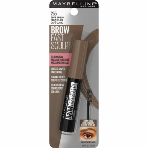 Maybelline Brow Fast Sculpt 255 Soft Brown Gel Brow Mascara Perspective: front