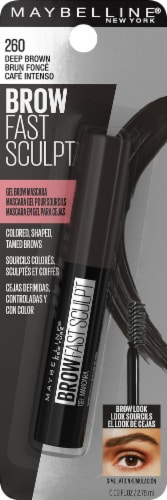 Maybelline Fast Sculpt Deep Brown Eyebrow Mascara Perspective: front