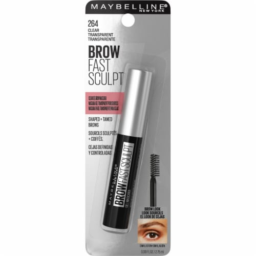 Maybelline Brow Fast Sculpt 264 Clear Gel Brow Mascara Perspective: front