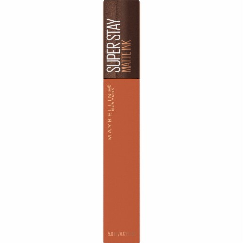 Maybelline Superstay Matte Ink Coffee Caramel Collector Liquid Lipstick Perspective: front