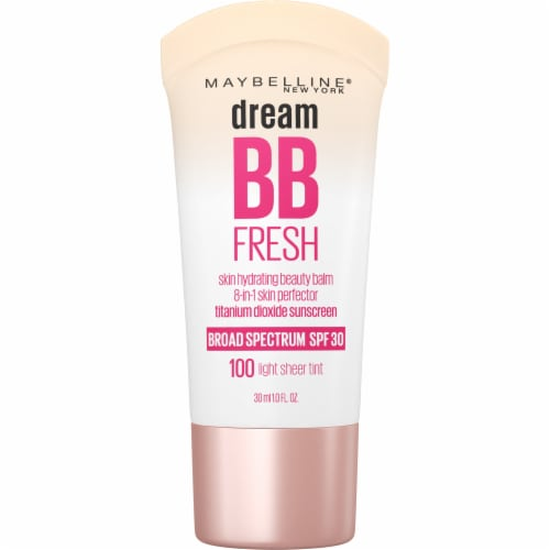 Maybeline Dream BB Fresh 100 Light Sheer Tint 8 in 1 Skin Perfector Perspective: front