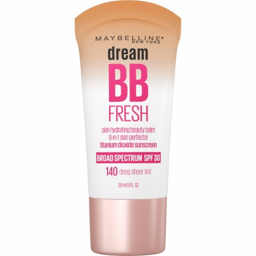 Maybelline Dream Fresh BB Cream 140 Deep Sheer Tint 8 in 1 Skin Perfector Perspective: front