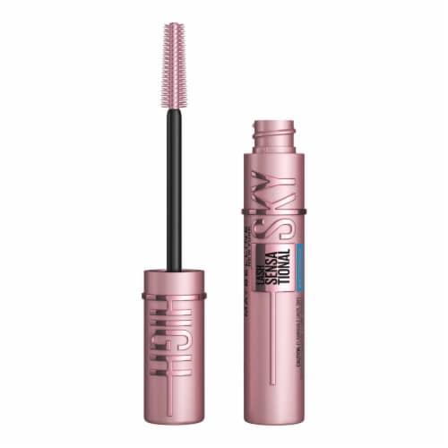 Maybelline Lash Sensational Sky High Brownish Black Waterproof Mascara Perspective: front