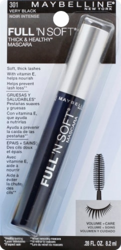 Maybelline Full 'N Soft Very Black Mascara Perspective: front