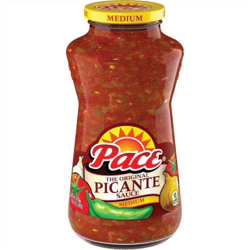 Pace Medium Picante Sauce Perspective: front