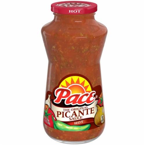 Pace Hot Picante Sauce Perspective: front