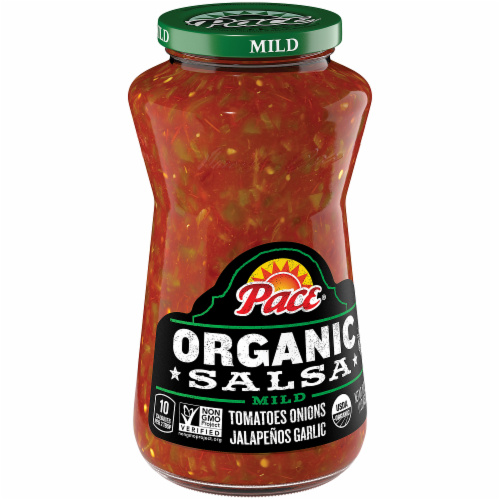 Pace Organic Mild Salsa Perspective: front